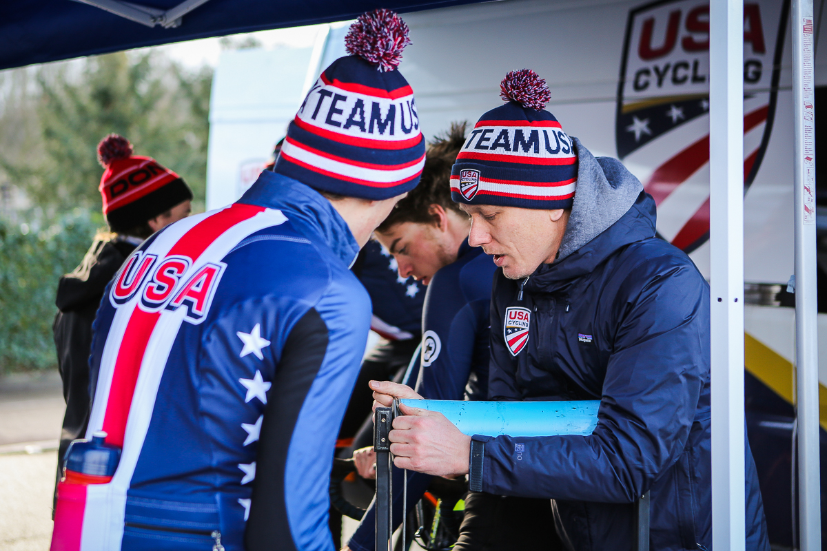 Cyclocross team USA WK Valkenburg 2018